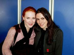 Simone Simons (Epica) & Sharon den Adel (Within Temptation)