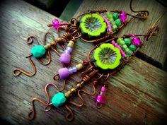 NEW Tribal Rustic Ethnic Hippie Boho Colorful by BijouxFan on Etsy
