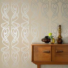 art nouveau inspired wallpaper - Google Search