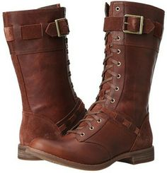 Timberland Earthkeepers Savin Hill Mid Boot (Brown Forty Leather) - Footwear on shopstyle.com