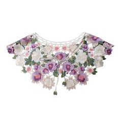 DIY Embroidery Lace Collar Neckline Trimming Decoration Flower Collar Lace Fabric Sew On Ladies Dress Clothing Accessories-in Lace from Home & Garden on Aliexpress.com | Alibaba Group
