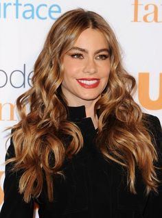 Sofia Vergara's Voluptuous Curls - Hair-Happy Holiday Inspiration - Photos