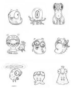"""Kahuna"" mascot & characters by Andreas Krapf, via Behance"