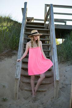 Lilly Pulitzer Pink Pom Pom Dress