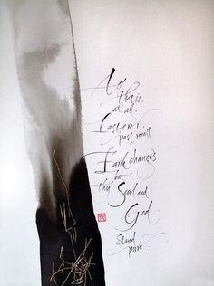 PORTFOLIO   Izumi Shiratani: Calligraphy & Letter Arts