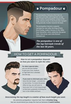 The top short hairstyles for men for the year 2018 are eye-catching and somewhat sophisticated. Today the short mens hairstyles have become particularly. Modern Pompadour, Pompadour Men, Pompadour Hairstyle, Popular Mens Hairstyles, Popular Hairstyles, Hairstyles Men, Medium Hairstyles, Wedding Hairstyles, Cool Haircuts
