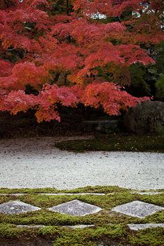 Tenjuan Garden of Nanzen-ji temple, Kyoto, Japan