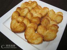 Palmiers Recipefrom Christine's Recipes