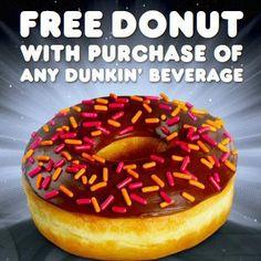 FREE DONUT