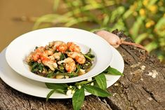 It's National Reconciliation Week so celebrate by using indigenous flavours with my Poached yabbies with lemon myrtle butter & macadamia warrigal greens Recipe Using Lemons, My Favorite Food, Favorite Recipes, Greens Recipe, Myrtle, Appetizers, Butter, White Onion, Dishes
