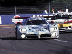 Nissan R390 race car