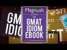 List of best Gmat preparation Book that will help MBA aspirants to score in their Gmat exam. These video contains top gmat prep book which will help you. Gmat Preparation, Gmat Exam, Prep Book, Idioms, Books, Libros, Book, Book Illustrations, Libri