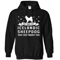Icelandic Sheepdog T-Shirts, Hoodies. Get It Now ==> https://www.sunfrog.com/Pets/Icelandic-Sheepdog-6965-Black-Hoodie.html?id=41382