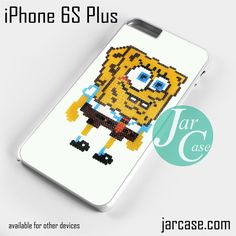 Spongebob Pixel Arts Phone case for iPhone 6S Plus and other iPhone devices