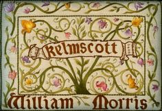 William Morris' last book at Kelmscott Press... bringing back beauty in typography and quality work