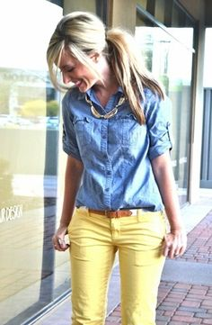I love these yellow jeans and I will so be getting me a pair!!!!!!!!!!