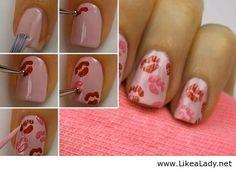 DIY Easy And Cute Nail Idea