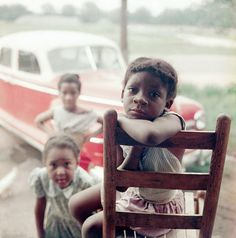 """1956- Gordon Parks documented the everyday lives of an extended black family living in rural Alabama under Jim Crow segregation for Life magazine's photo-essay """"The Restraints: Open and Hidden."""""""