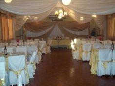 decoracion con telas para 15 años Valance Curtains, Chandelier, Ceiling Lights, Image, Home Decor, Wedding Ideas, Google, Fabric Ceiling, Homemade Home Decor