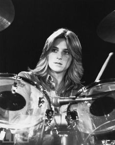 Sandy West - drummer for all girl rock band, the Runaways. Description from pinterest.com. I searched for this on bing.com/images