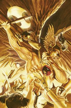 JUSTICE #7, by Alex Ross.