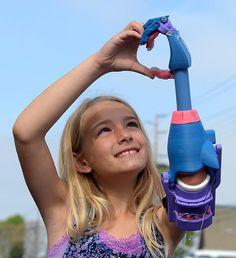 Veja o futuro acontecer através do sorriso dessa garota