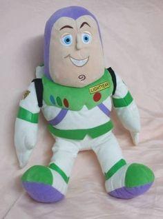 """Toy Story Buzz Light Year Plush Doll (14"""") Disney http://www.amazon.com/dp/B0055V0CY8/ref=cm_sw_r_pi_dp_BsV9vb16XXD5V"""