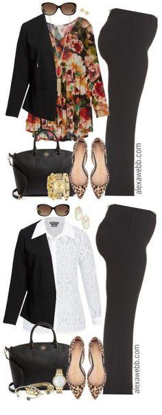 Plus Size Fall Work Outfits - Plus Size Fashion for Women - Plus Size Business Attire - alexawebb.com
