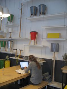 The concept behind Field Office is simple; it serves as an office-out-of-the-office. South African product designers Pedersen + Lennard first opened the Field Office in Barrack Street to show off some of their slick furniture and smaller household items.