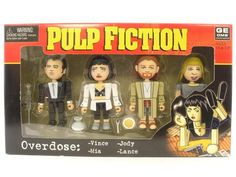 Pulp Fiction Geoms - Overdose by NECA