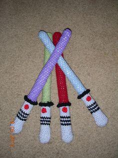 crochet light saber