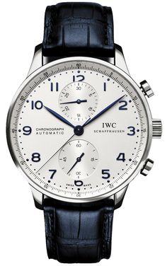 Buy IWC Portuguese Chronograph Stainless Steel Watches, authentic at discount prices. All current IWC styles available. Dream Watches, Luxury Watches, Cool Watches, Watches For Men, Stylish Watches, Patek Philippe, Maurice Lacroix, Herren Chronograph, Iwc Watches