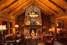 Oak Cabin-Great Room