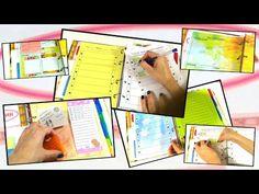 DIY Ежедневник 2015! Планирование на неделю! Списки To do! - YouTube