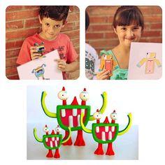 #MOYUPI !  è un progetto nato in #Spagna dal #graphic #designer #JuanAngelMedinaSanchez, consiste nel materializzare i disegni dei #bimbi con l'ausilio di una #stampante3D. Così strani #animali e improbabili #mostri vengono impacchettati e spediti a #casa vostra già colorati o da colorare.  Ad ora lo possiamo trovare solo su #kickstarter, perciò #genitori i vostri #figli dovranno ancora affidarsi al vecchio #pongo per le loro surreali #opere......ma diciamocelo, anche noi da eterni #bambini…