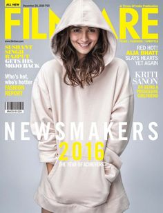 Filmfare December 2016 | Alia Bhatt on the Magazine Cover