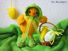 """Items similar to Easter Chicken """"Chico"""" / handmade easter decoration/ easter chicken/ knitted toy/ knitted easter decoration/decorative chicken/toy/easter on Etsy Chicken Toys, Easter Gift, Christmas Ornaments, Decoration, Holiday Decor, Handmade, Gifts, Etsy, Decor"""