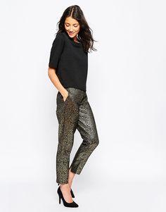 Pantalon effet métallisé - 52,99€