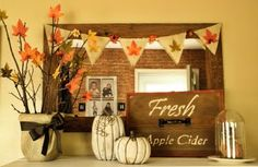 "I love the ""Fresh Apple Cider"" tray! I may have to duplicate it . . . somehow. . ."