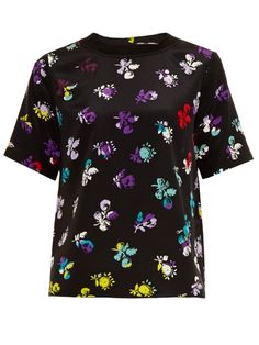 DIANE VON FURSTENBERG Dayle Top. #dianevonfurstenberg #cloth #top