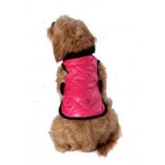Chewnel Dog Coat Super Lightweight in Hot Pink