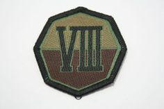 ROK Republic of Korea Army Patch Badge Combat Uniform Unit ROK VIII Corps