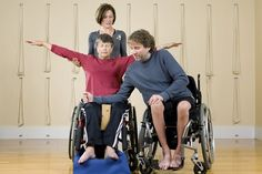 Yoga for People in Wheelchairs   Paralyzed at age 13, this yoga teacher shares how to make the practice more accessible to everyone Occupational Therapy, Physical Therapy, Physical Exercise, Physical Education, Yoga For All, Wheelchair Accessories, Chair Exercises, Disability Awareness, Chair Yoga