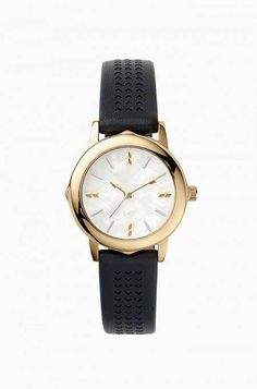 Gold and Black Interchangeable Bezel Watch | Stella & Dot