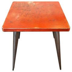 Tolix Industrial Metal Table