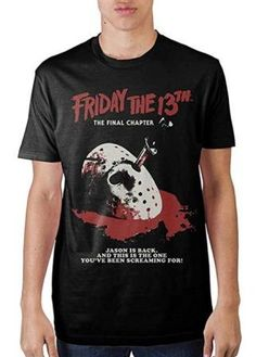 7fae201376 Friday The 13th Final Chapter T-Shirt Horror Movies