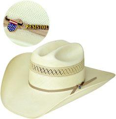 Chapéu de Palha 10x Resistol Hat Wildfire USTRC - Loja Cowboys ad69d86fea8