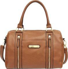 Franco Sarto Ivy Satchel Whisky - #handbags #accessories #eBagsObsession #mostobsessed