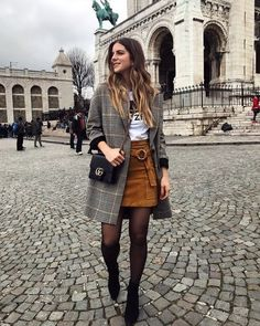 Winter outfits with few clothes, so as not to look like a spring onion . - Winter outfits with few dresses, so as not to look like a spring onion - Paris Outfits, Winter Fashion Outfits, Mode Outfits, Fall Winter Outfits, Look Fashion, Spring Outfits, Autumn Fashion, Casual Outfits, Womens Fashion