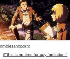 dammit armin, get your shit together << there's always time for it don't lie to yourself